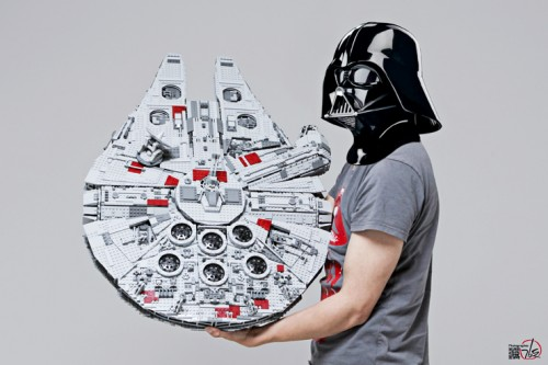 Vader has the Falcon